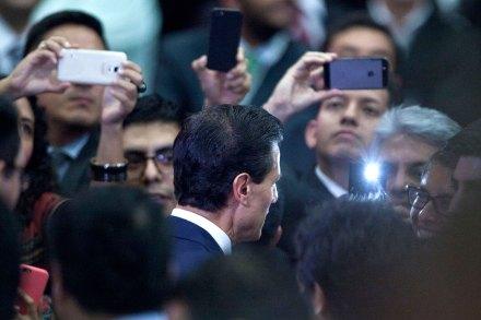 Enrique Peña Nieto, titular del Ejecutivo. Foto: Eduardo Miranda