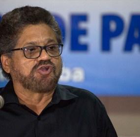 Iván Márquez, el negociador de las FARC. Foto: AP