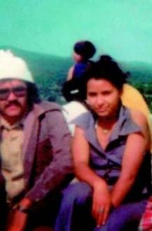 Manuel Alapizco y Martha Camacho. Universitarios