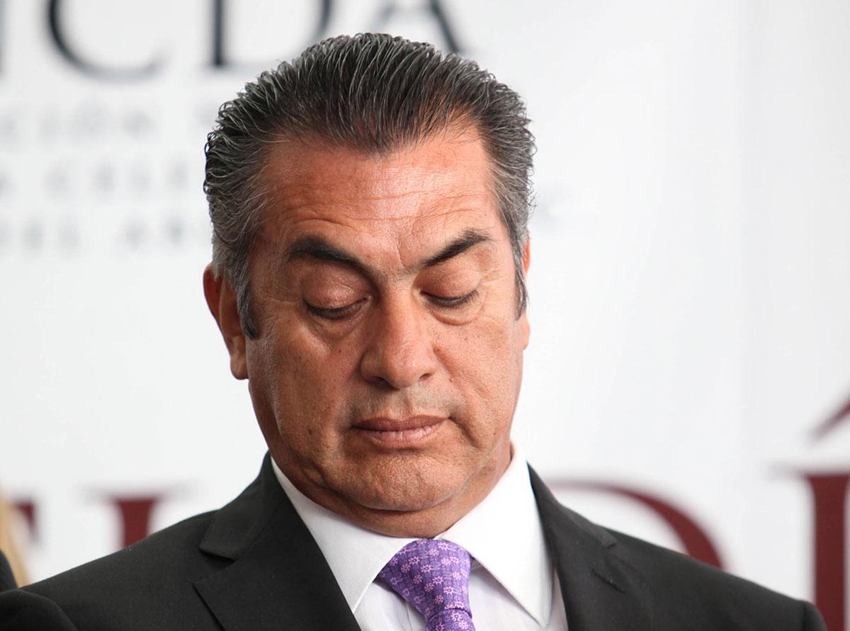 Jaime Rodríguez Calderón, gobernador de Nuevo León. Foto: Benjamin Flores