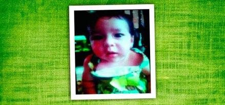 Adriana Alexa Ramírez Soto, de ocho meses. Foto: Especial