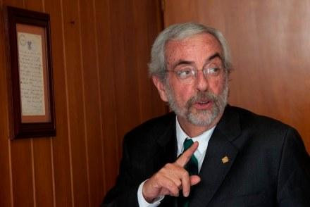 Enrique Graue Wiechers, rector de la UNAM. Foto: Eduardo Miranda