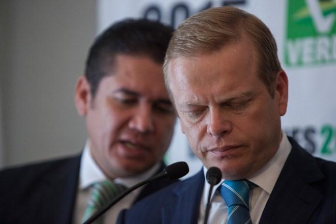 Arturo Escobar, excoordinador de la campaña del Partido Verde. Foto: Octavio Gómez