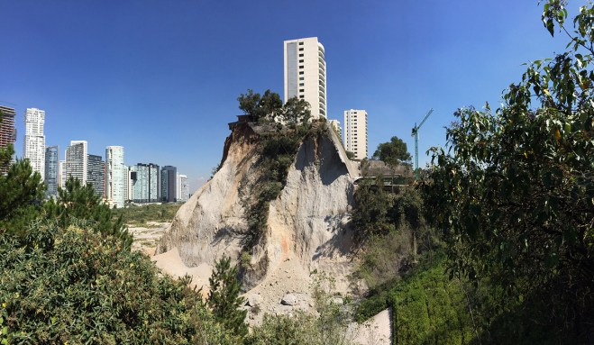 Voices For Mother Earth Mexico City Santa Fe Landslides Mother Nature Displays The Corruption