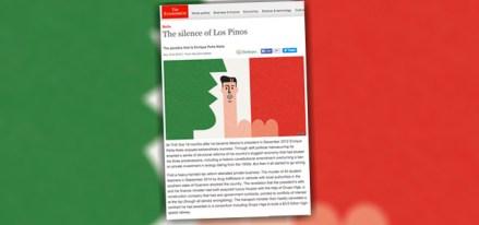 La publicación de The Economist acerca de Peña.