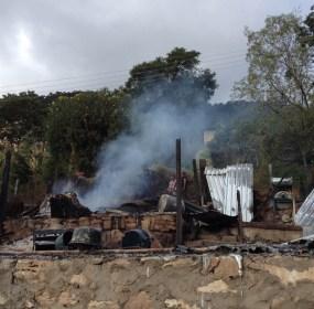 El ataque en la comunidad serrana del municipio de Leonardo Bravo, Guerrero. Foto: Ezequiel Flores