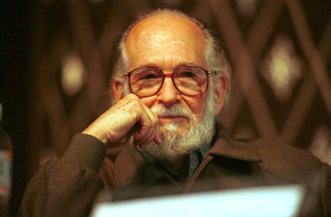 Enrique Maza en un retrato de 2001. Foto: José Manuel Jiménez