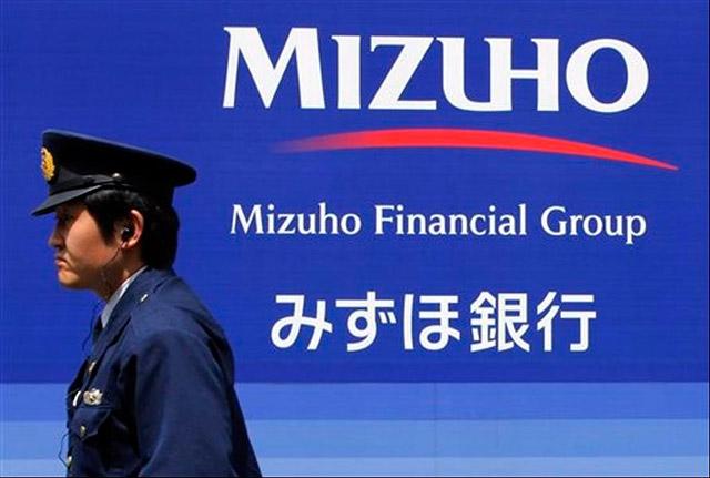 Las oficinas de Mizuho Bank Ltd en Tokio. Foto: AP