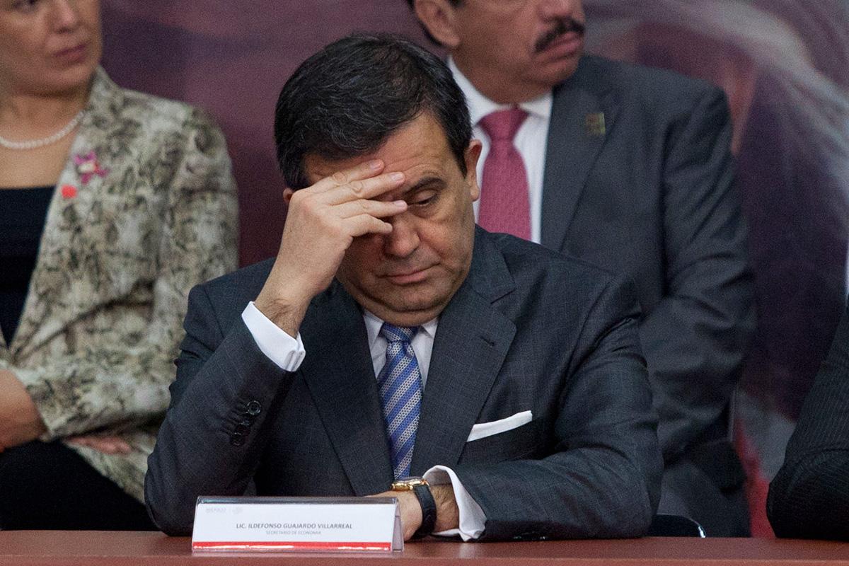 Ildefonso Guajardo, titular de la Secretaría de Economía. Foto: Eduardo Miranda