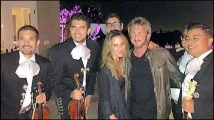 Kate del Castillo y Sean Penn. Foto tomada del Twitter de la actriz mexicana