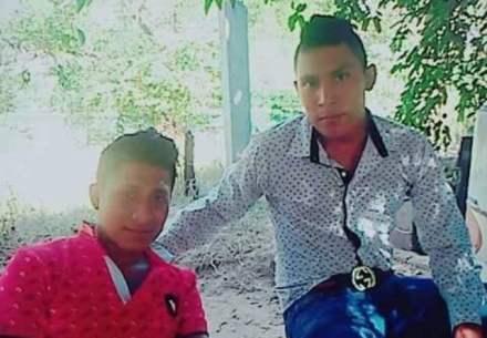 Los dos jóvenes secuestrados. Foto: Especial