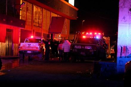 El ataque al bar en el municipio de Guadalupe, Zacatecas, Foto: Mirador
