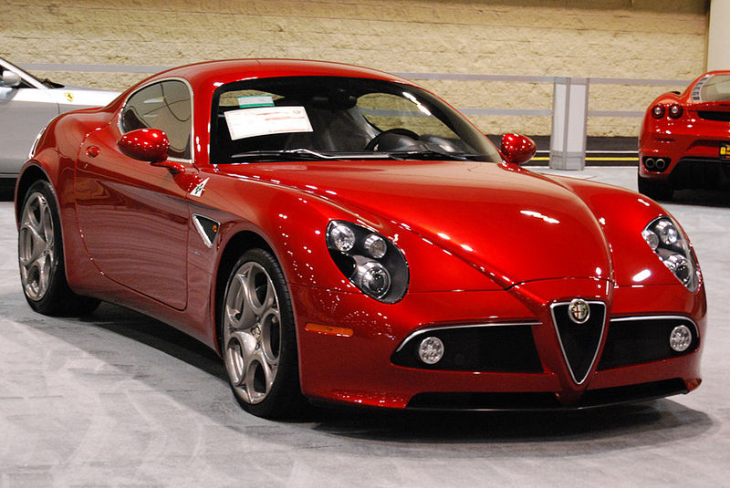 By Keanan from Orlando, United States (Alfa Romeo 8C (3)) [CC BY 2.0], via Wikimedia Commons