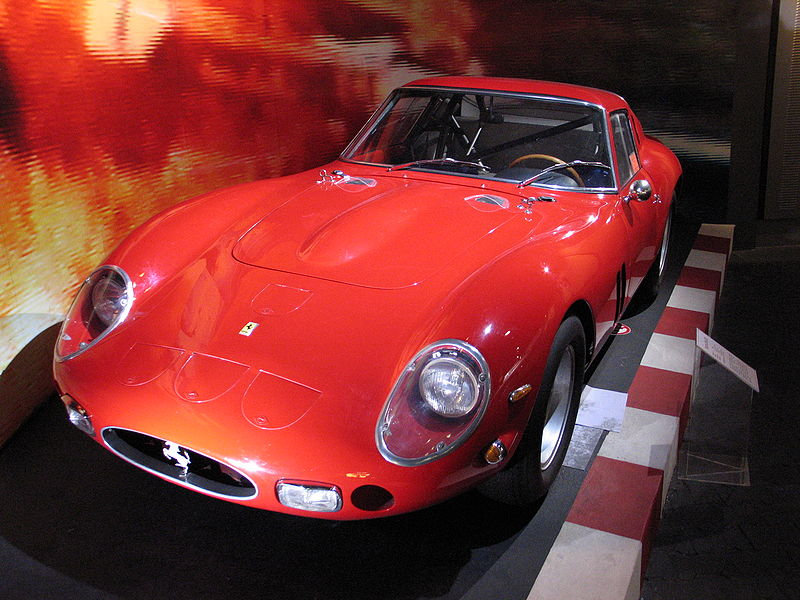 By Mike Roberts from London, United Kingdom (Ferrari 250 GTO) [CC BY-SA 2.0], via Wikimedia Commons