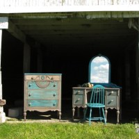 Rustic Chic Finish ~ Themed Makeover