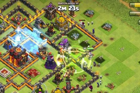 recuperer partie clash of clans