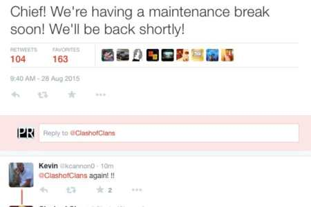 clash of clans august 28 maintenance