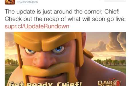 clash of clans september update release time