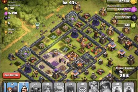 clash of clans valkyrie strategy