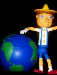 Pinocho quiere salvar el mundo