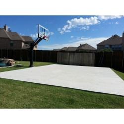 Small Crop Of Backyard Basketball Court