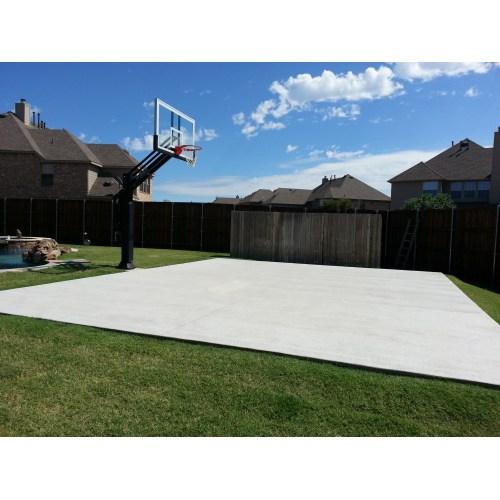 Medium Crop Of Backyard Basketball Court
