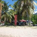 Nevis beach cabana