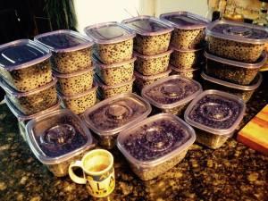 A successful harvest. -Kiana Putman