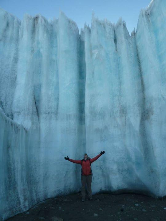 Kilimanjaro ice fin