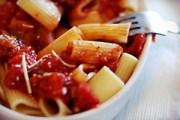 Nickel-free pasta and tomato