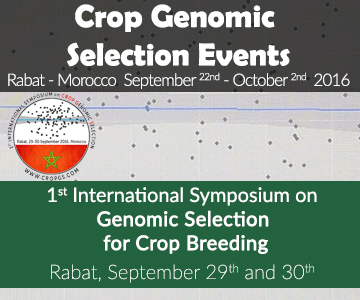 1st International Symposium on Genomic Selection for Crop Breeding