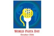 World Pasta Day 2013: Pasta, a healthy and sustainable food