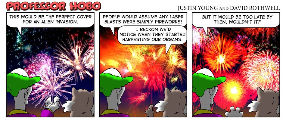 Alien Fireworks