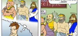 The Ten Commandments in comic form