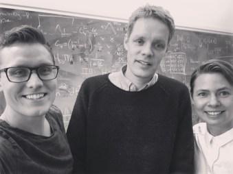 Vi besöker Ulf Danielsson på hans kontor vid Ångströmslaboratoriet på Uppsala universitet