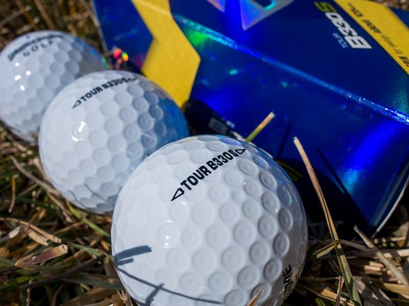 Billy Hurley III plays the Bridgestone Tour B330 S golf ball. Credit: Bridgestone Golf