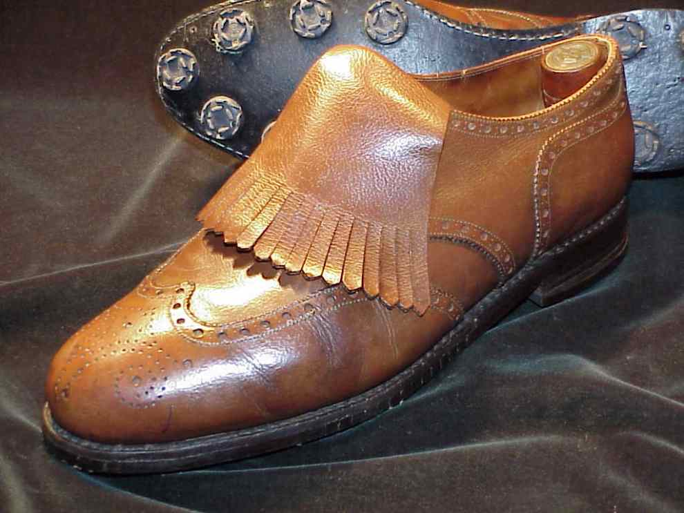 The Vintage Bespoke John Lobb Golf Derby shoe from 1965. Credit: Classic Shoes For Men