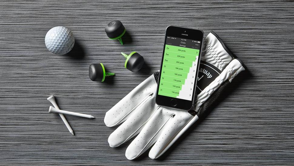 Arccos uses GPS and Bluetooth technology to track a player's performance, in real-time. Credit: Arccos