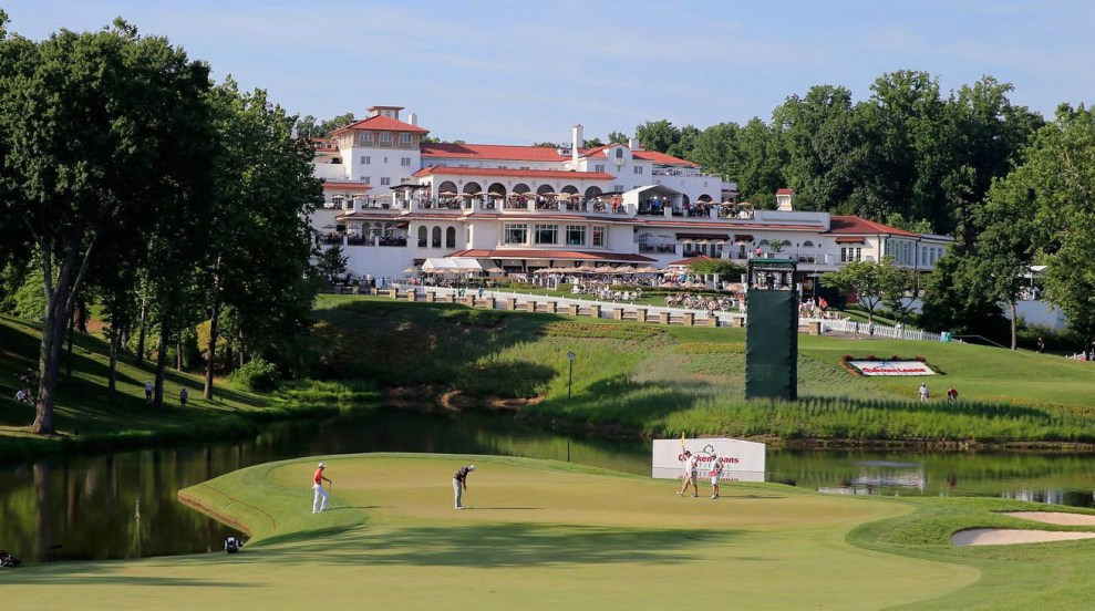 Historic Congressional Country Club will play host to the PGA Tour 's Quicken Loans National. Credit: SB Nation