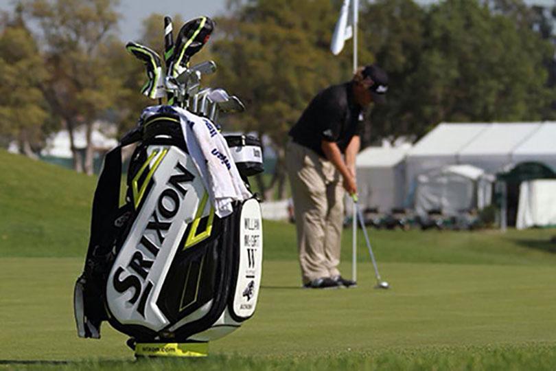 William McGirt plays a Srixon Z-Star golf ball. Credit: William McGirt