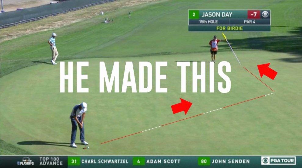 Golf on CBS tweet