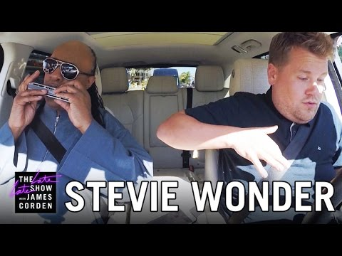 Stevie Wonder singt Carpool Karaoke mit James Corden