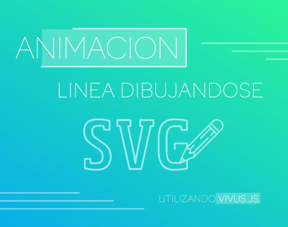 Como hacer la animación de linea dibujándose con un SVG ...