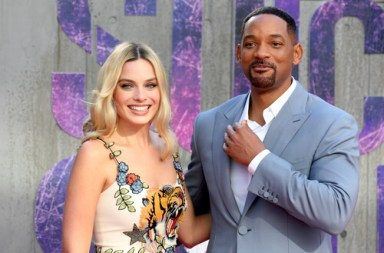 LONDON - AUG 03, 2016: Margot Robbie and Will Smith attend the Suicide Squad film premiere on Aug 03, 2016 in London (Twocoms / Shutterstock.com)