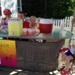 A sunny day in Ohio leads to a lemonade stand with $100 raised for Project Nght Night.