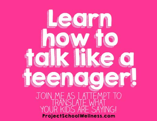 Learn how to talk like a teenager! - Parenting Advice, Teaching Advice