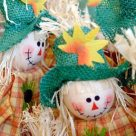 Scarecrow - fall crafts for preschoolers