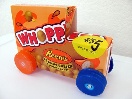 Make a candy box car