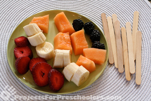 fruit to make a fruit kabob