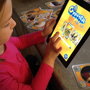 Cypher Kids Club Interactive Cards and Apps